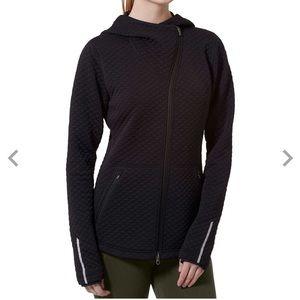 New Balance Heat Loft Asym Zip Jacket S BLK